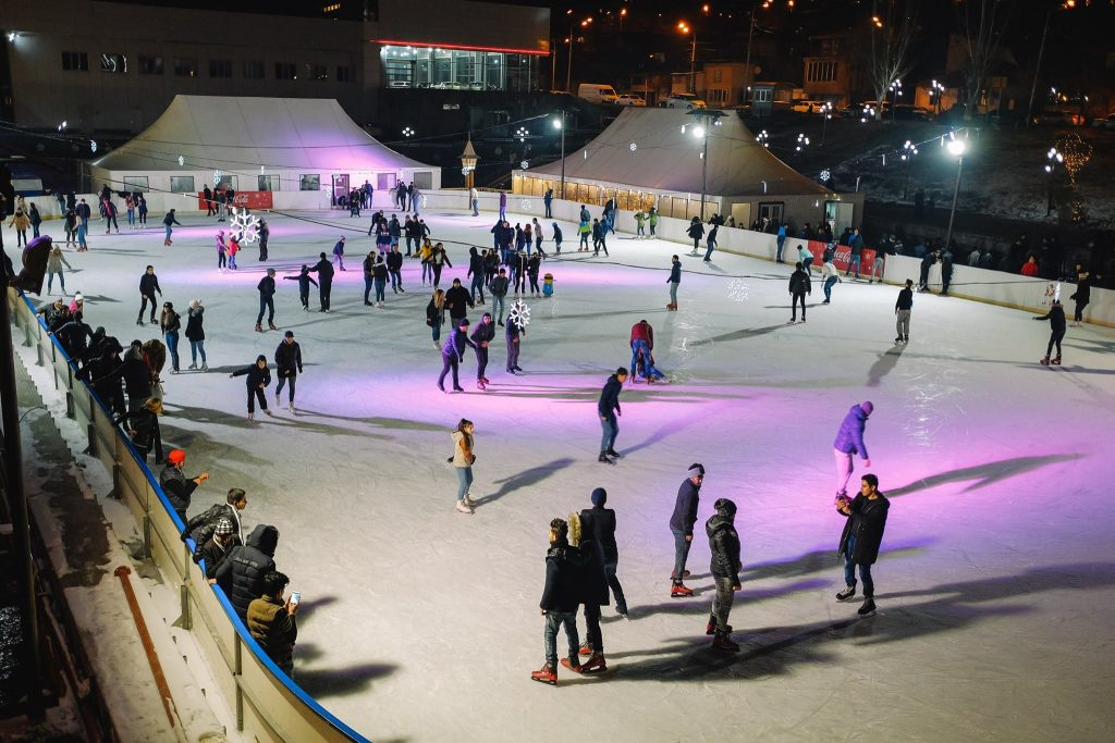 skate rinks in Yerevan with AVC