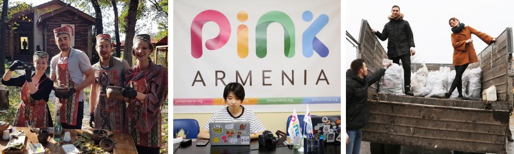 avc volunteers and interns armenia