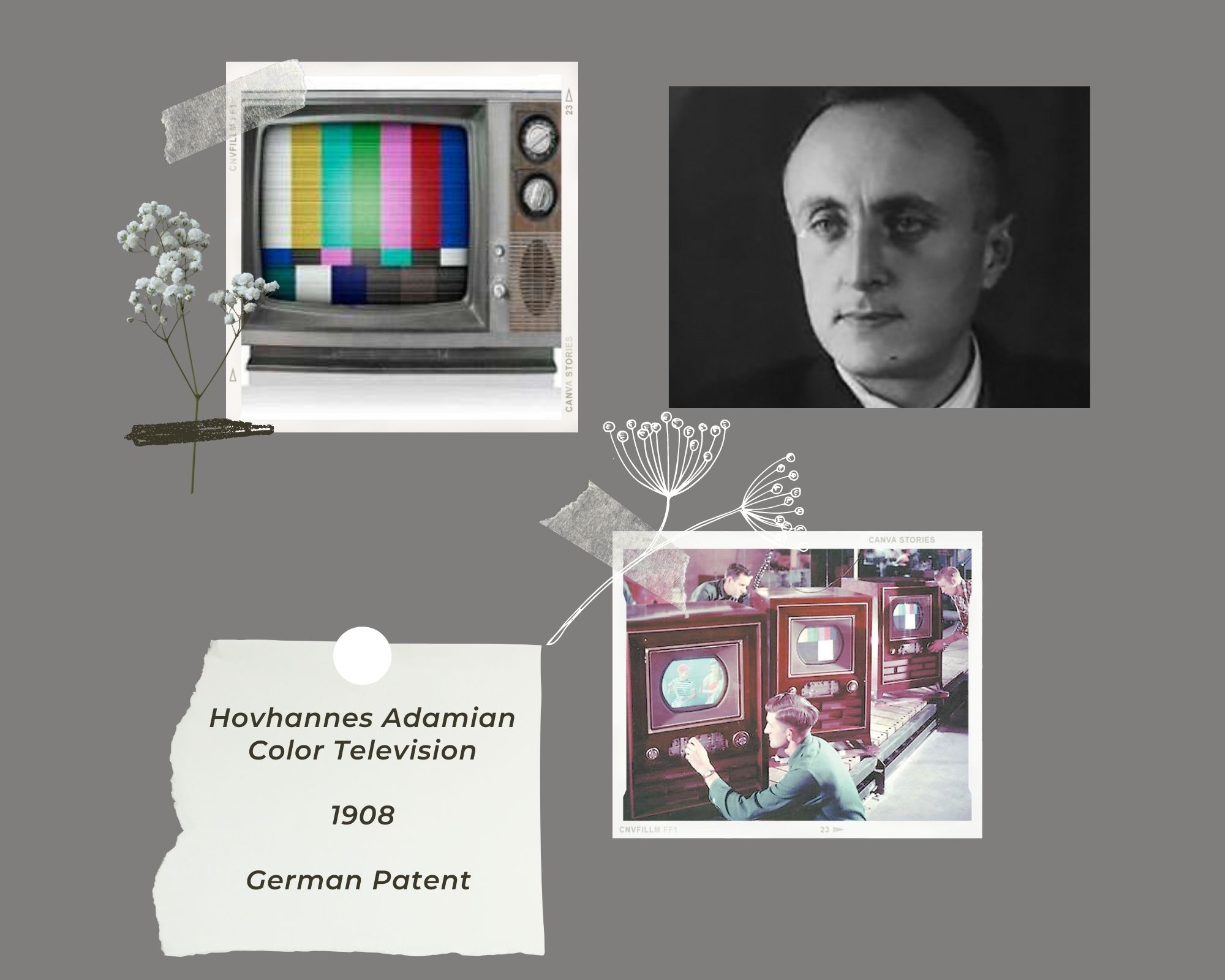 Hovahnnes Adamian color tv