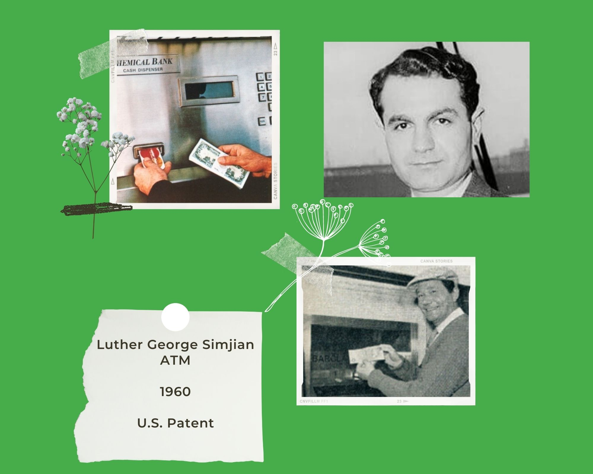 Luther George Simjian ATM